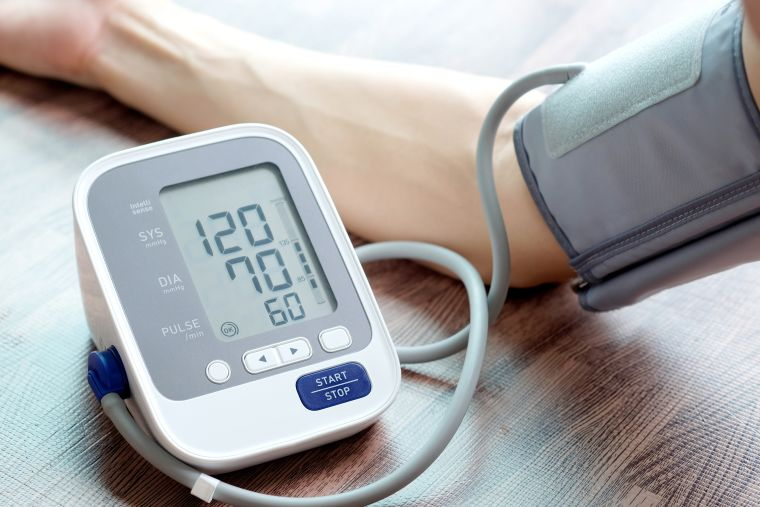 Photo of blood pressure monitor.