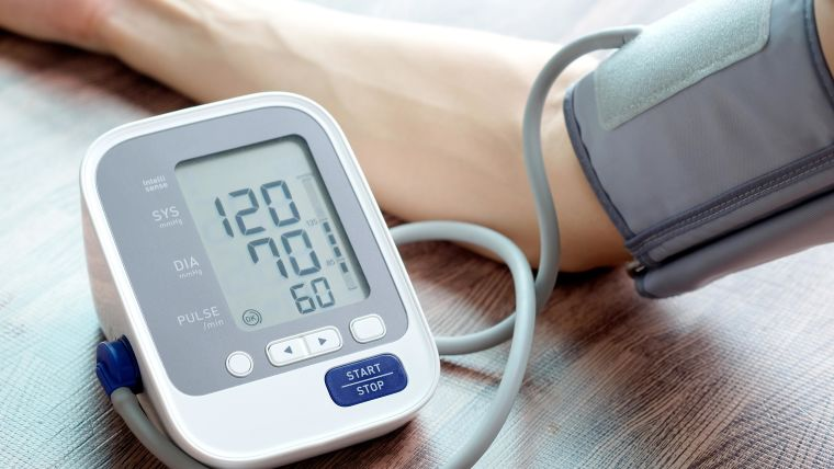 Photo of blood pressure monitor.