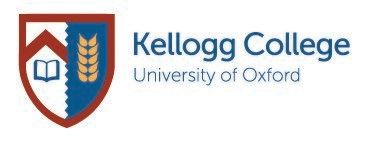 Kellogg College logo with crest image