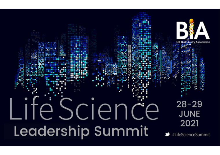 Flyer for Life Sciences Leadership Summit.