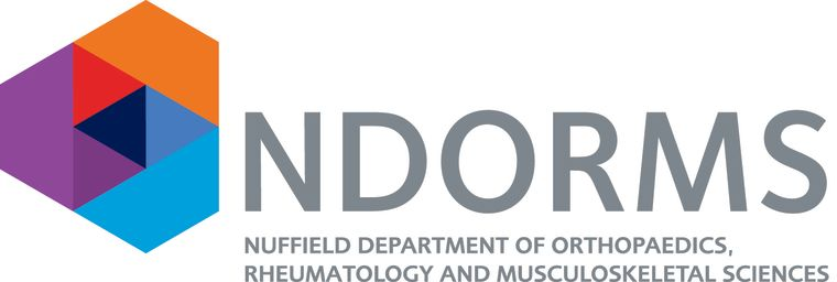 Nuffield Department of Orthopaedics, Rheumatology and Musculoskeletal Sciences (NDORMS) logo