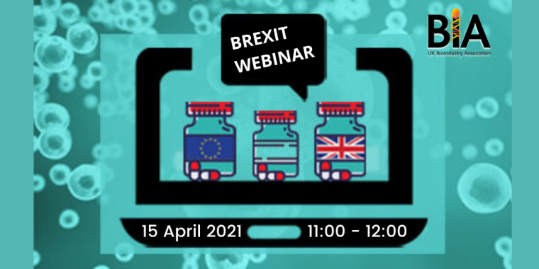 Flyer for BIA Brexit Briefing Webinar