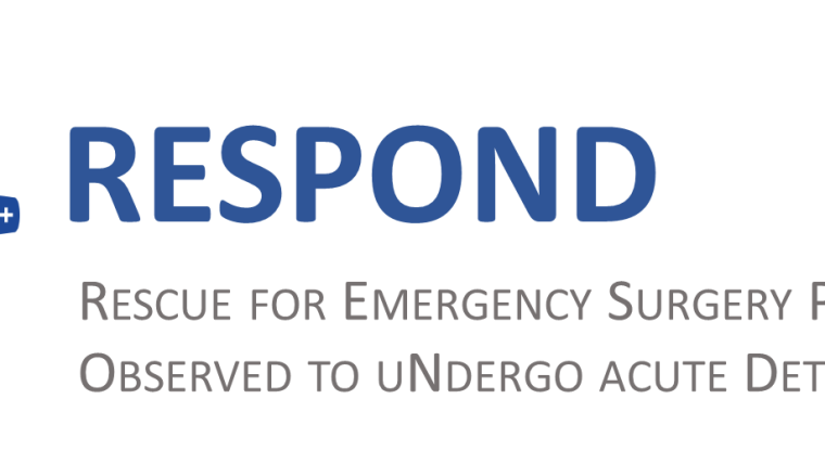 RESPOND is a five-year research programme that aims to use Human Factors techniques (in particular Safety II) to improve rescue for emergency surgery patients who develop complications or deteriorate under surgical care. It is focused on emergency laparotomy and acute abdominal conditions.