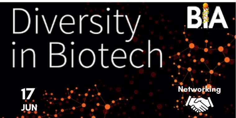 Diversity in Biotech flyer