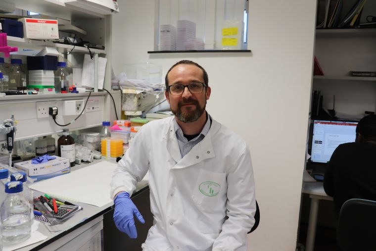 Picture of Oncology researcher Dr. Bart Cornelissen