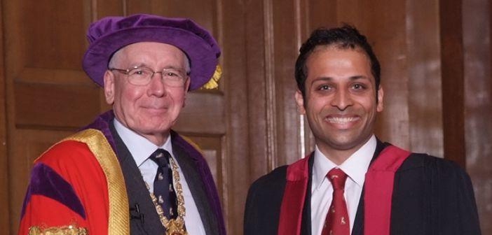 Neurosurgeon awarded hunterian professorship
