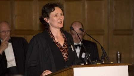 Professor Irene Tracey of the Nuffield Department of Clinical Neurosciences
