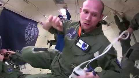 Our researchers test health technology on zero gravity flights with nasa