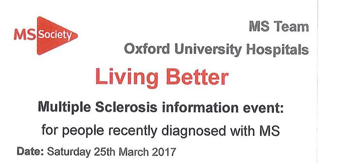 Multiple Sclerosis Patient Day — Nuffield Department of
