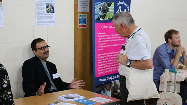 Ndcn gets involved in nihr drop in event