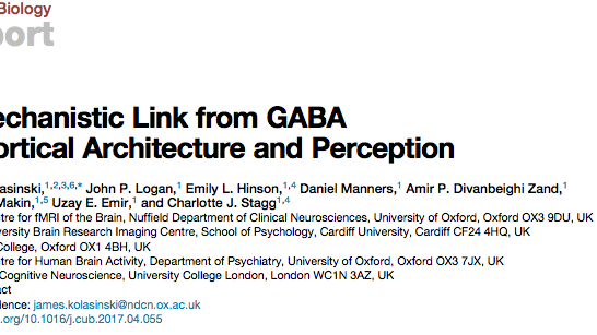 Published paper current biology