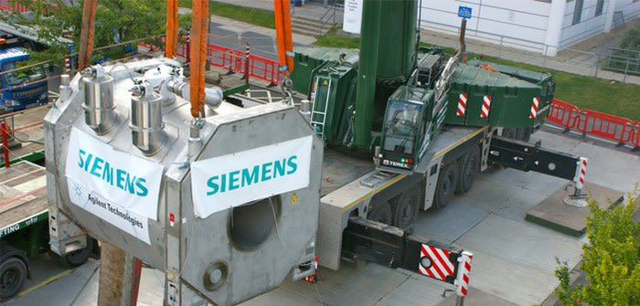 Installation of the 7T MRI scanner