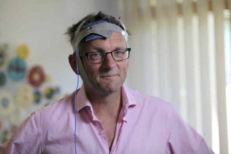 Michael Mosley using Non-Invasive Brain Stimulation