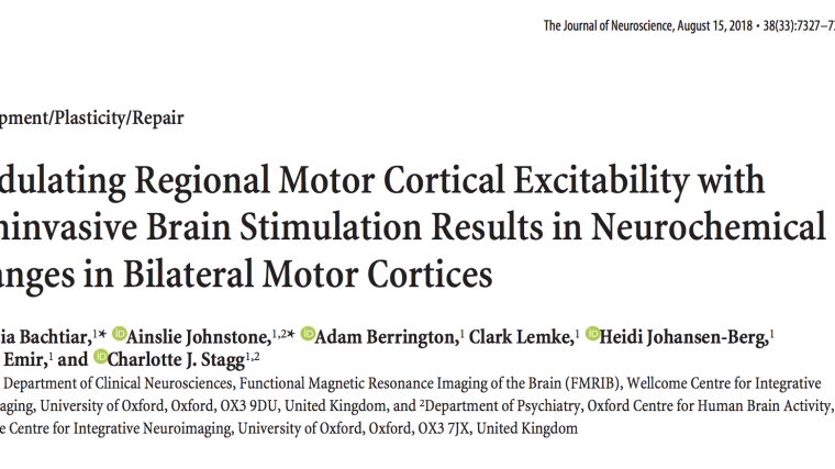 Published paper journal of neuroscience 2