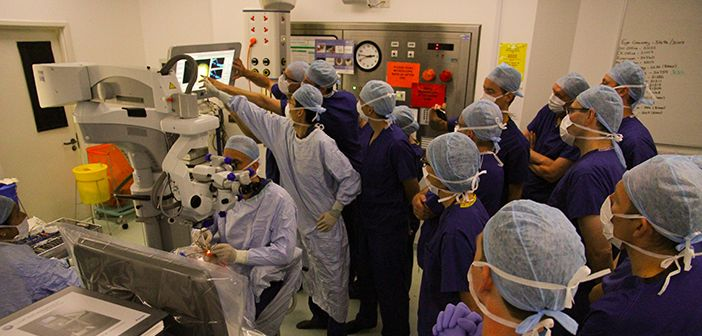 Gene therapy operation