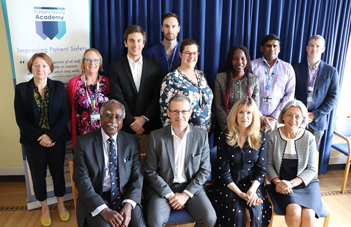 High profile doctors visit the patient safety academy