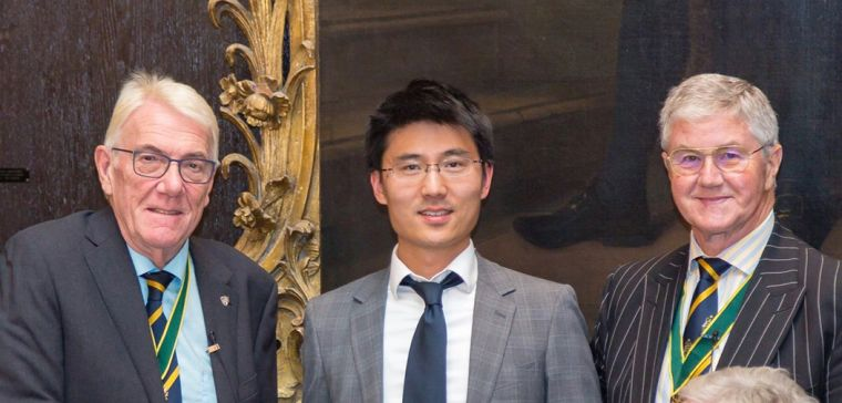 Dr Kanmin Xue has won the Ruskell Medal from the Worshipful Company of Spectacle Makers
