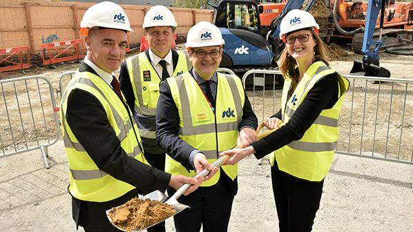 Building work for new neuroscience research facility gets underway