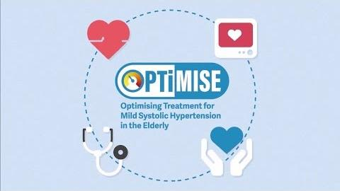Optimising treatment for mild systolic hypertension in the elderly optimise