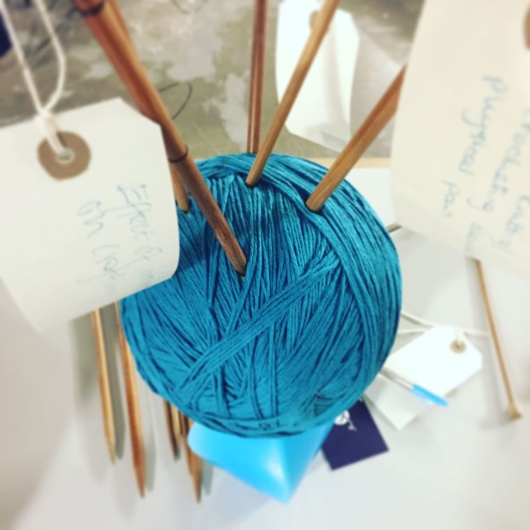 Yarnfulness: Engaging the public in research on well-being through craft