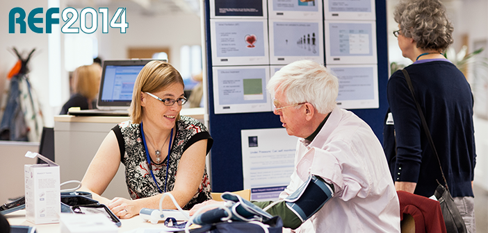 Oxford medical sciences excels in ref 2014 exercise