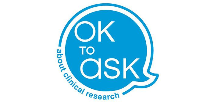 Its ok to ask about clinical research on international clinical trials day