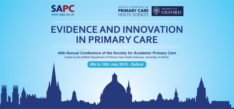 44th annual conference of the society for academic primary care