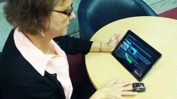 Android tablet app can help copd patients manage their long term condition
