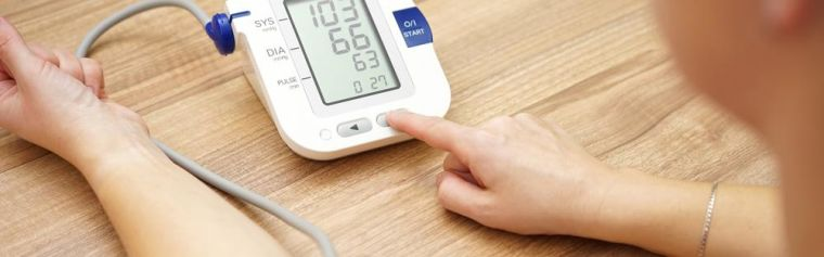 Blood pressure self monitoring