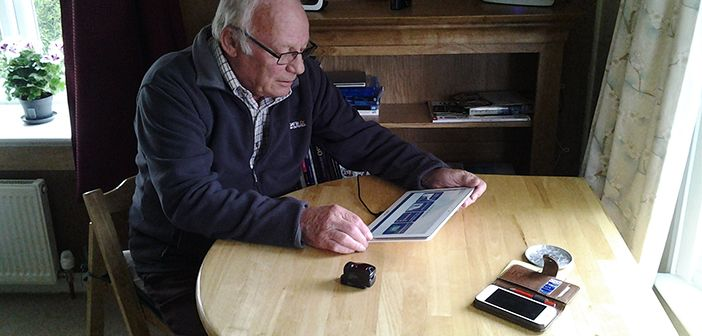 Edge self managing copd using a mobile health based intervention