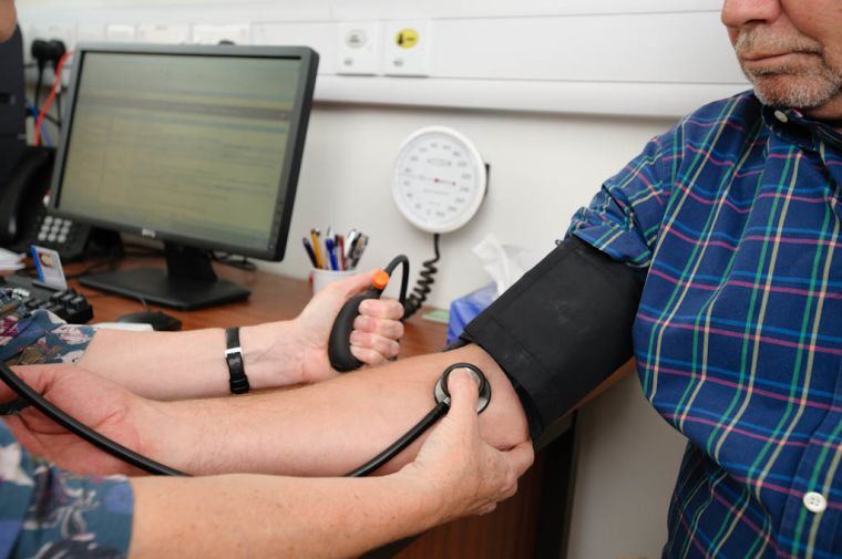 Reatment for moderately high blood pressure may be best saved for those at high risk.jpg