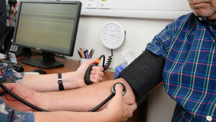 Treatment for moderately high blood pressure may be best saved for those at high risk