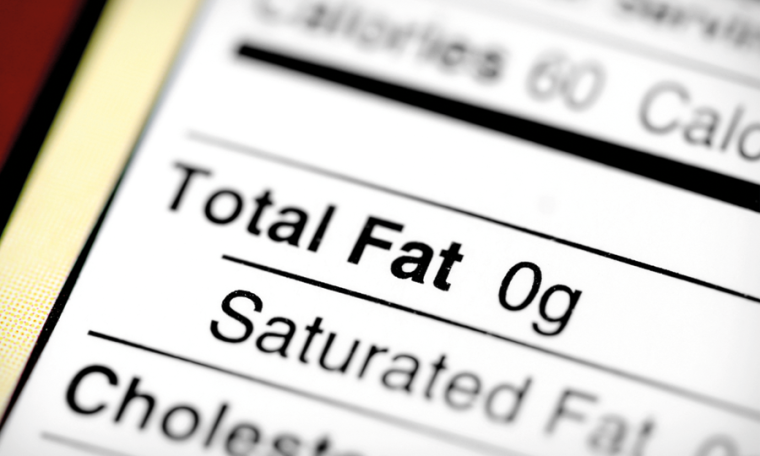 Saturated fat content