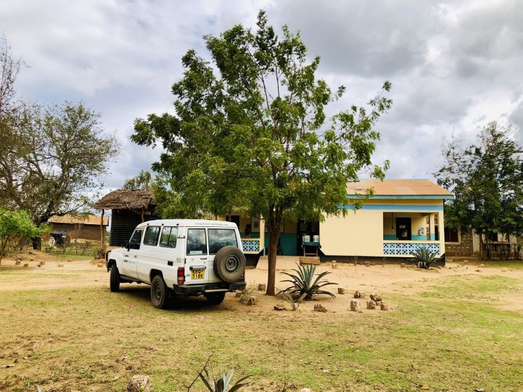 Primary care facilities on Tonny's fieldwork in Kilifi.