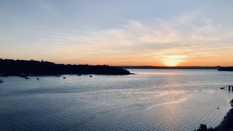 The beautiful Kilifi sunset, a spectacular start to Tonny's fieldwork.