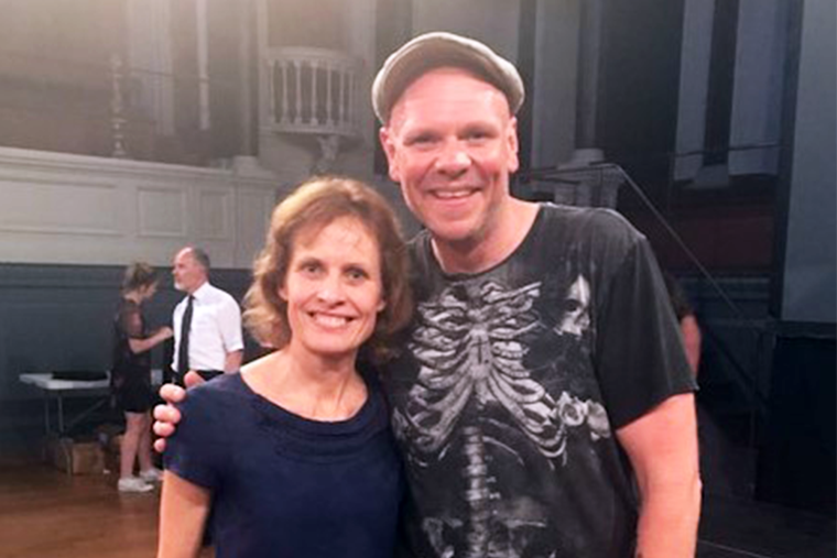 Photo of Tom Kerridge and Professor Susan Jebb