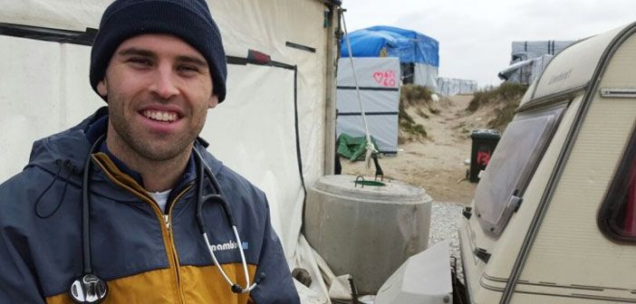 Evidence based practice in the calais refugee camp