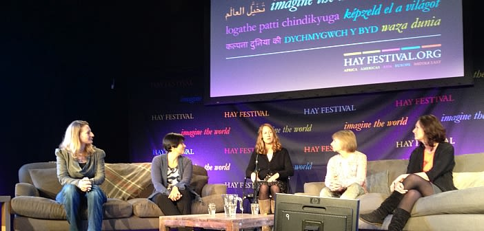 Our liz tunbridge stars at hay festival
