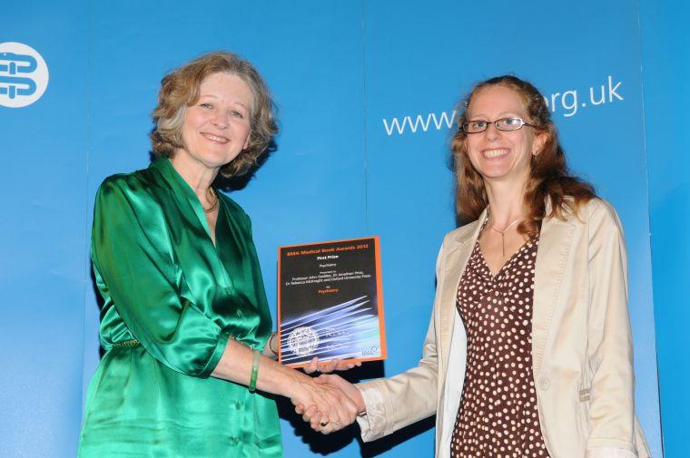 2012 bma medical book awards winner