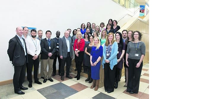 John radcliffe hospital2019s psychological medicine team awarded gold in the trusts team of the year category