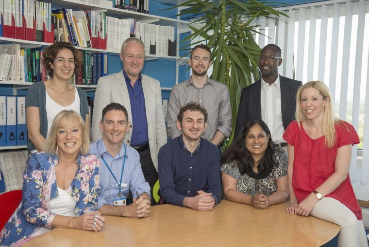 The Psychological Medicine clinical team with Professor Michael Sharpe (back row, second from left).