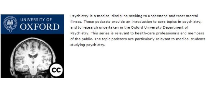 Psychiatry podcasters awarded prize in annual oxtalent competition