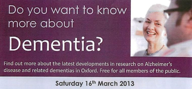 Do you want to know more about dementia