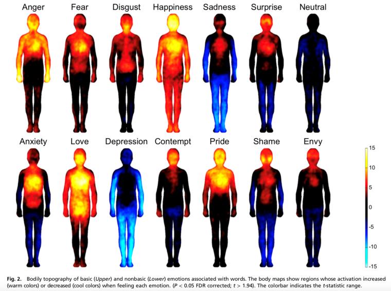 Bodily maps of emotion