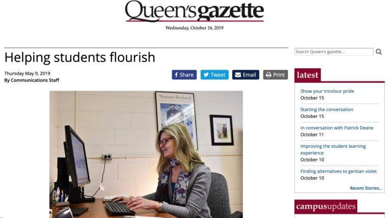 Helping students flourish