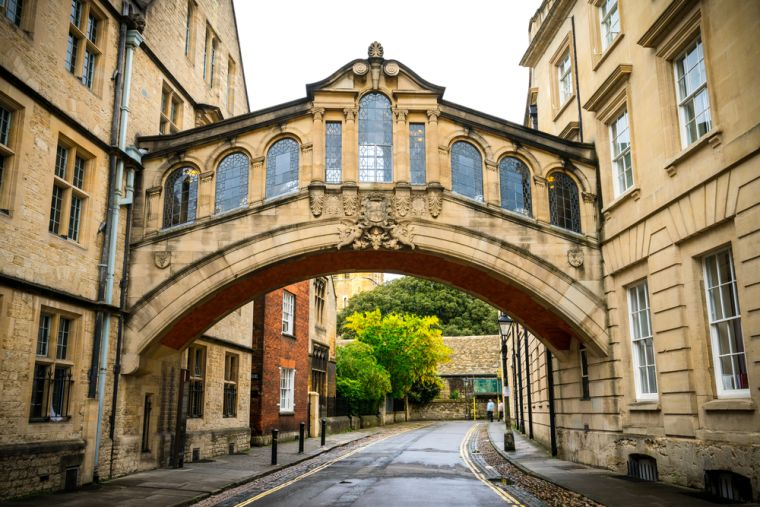 Oxford bridge