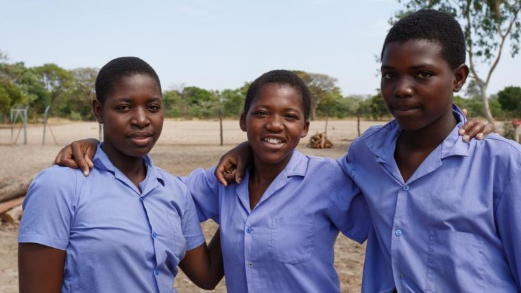 Adolescent girls in parts of sub-Saharan Africa, especially Southern Africa,  are at very high risk of developing HIV - by the time they reach adulthood, up to one in four* South African women will be HIV positive, and most are first infected during adolescence.