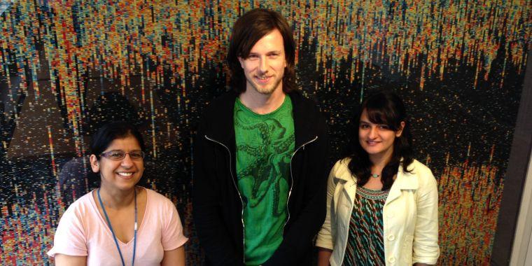 Sukhvir Wright, Joram Van Rheede and Sana Suri