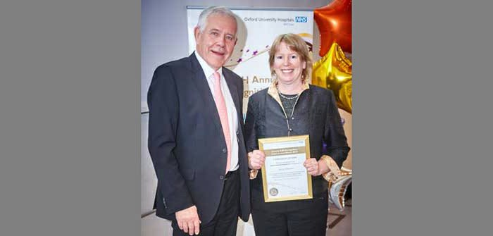 Ndcn honorary consultant wins award for research into inherited retinal disease
