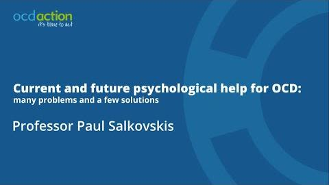 Paul salkovskis joins the department of experimental psychology